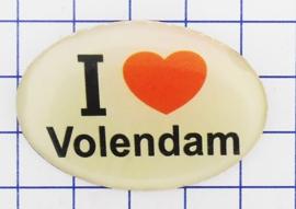 BRO 402 broche I love Volendam