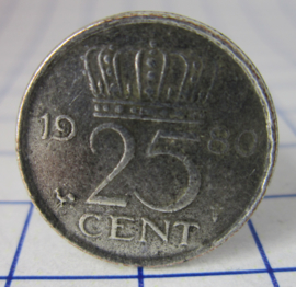 ring 25cent 1980