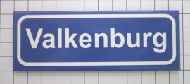 koelkastmagneet plaatsnaambord Valkenburg P_LI2.0001