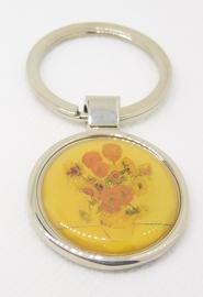 sleutelhanger zonnebloemen Vincent van Gogh