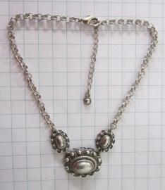 ovale Zeeuwse knoppen collier ZKC711