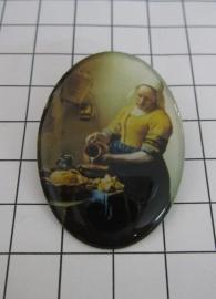 BRO 901 broche melkmeisje Vermeer