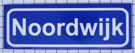 koelkastmagneet plaatsnaambord Noordwijk P_ZH10.0001