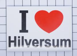 koelkastmagneet I love Hilversum N_NH16.001