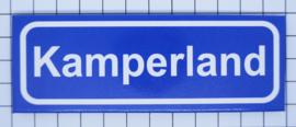 koelkastmagneet plaatsnaambord Kamperland P_ZE9.3001