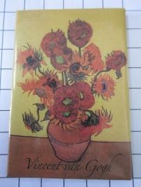 MAC: 20.400 Koelkast magneet Vincent van Gogh