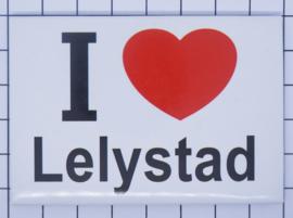 koelkastmagneet I ♥ Lelystad N_FL2.001