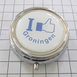 PIL_GR1.002 pillendoosje I like Groningen