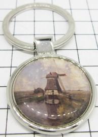 SLE202 Sleutelhanger Molen Gabriel (origineel in rijksmuseum)