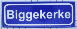 koelkastmagneet plaatsnaambord Biggekerke  P_ZE9.1001