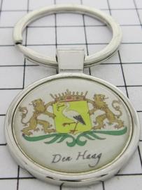 SLE_ ZH3.002 Sleutelhanger wapen Den Haag