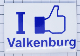 koelkastmagneet I like Valkenburg N_LI2.012
