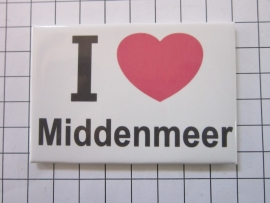 014 Magneet I love Middenmeer