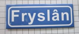 koelkastmagneet plaatsnaambord Fryslân P_FR1.0001