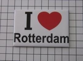 koelkastmagneet I ♥ Rotterdam MAC:22.002