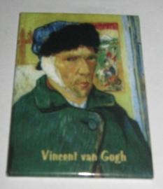 MAC :20.409 Koelkast magneet Vincent van Gogh, oor verband