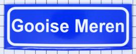 koelkastmagneet plaatsnaambord Gooise Meren P_NH18.0001