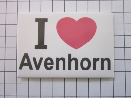 004 Magneet I love Avenhorn