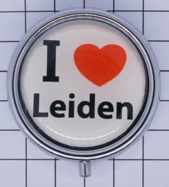 PIL_ZH6.001 pillendoosje I love Leiden