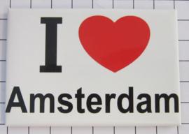 koelkastmagneet I love  Amsterdam 20.017