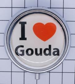 PIL_ZH2.001 pillendoosje I love Gouda