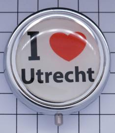 PIL_UT1.001 pillendoosje I Love Utrecht