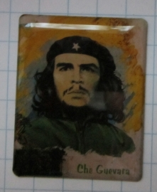 Magneet emaille, Che guevara groen