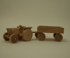 tractor met kar