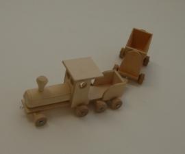 Trein met wagon (groot)