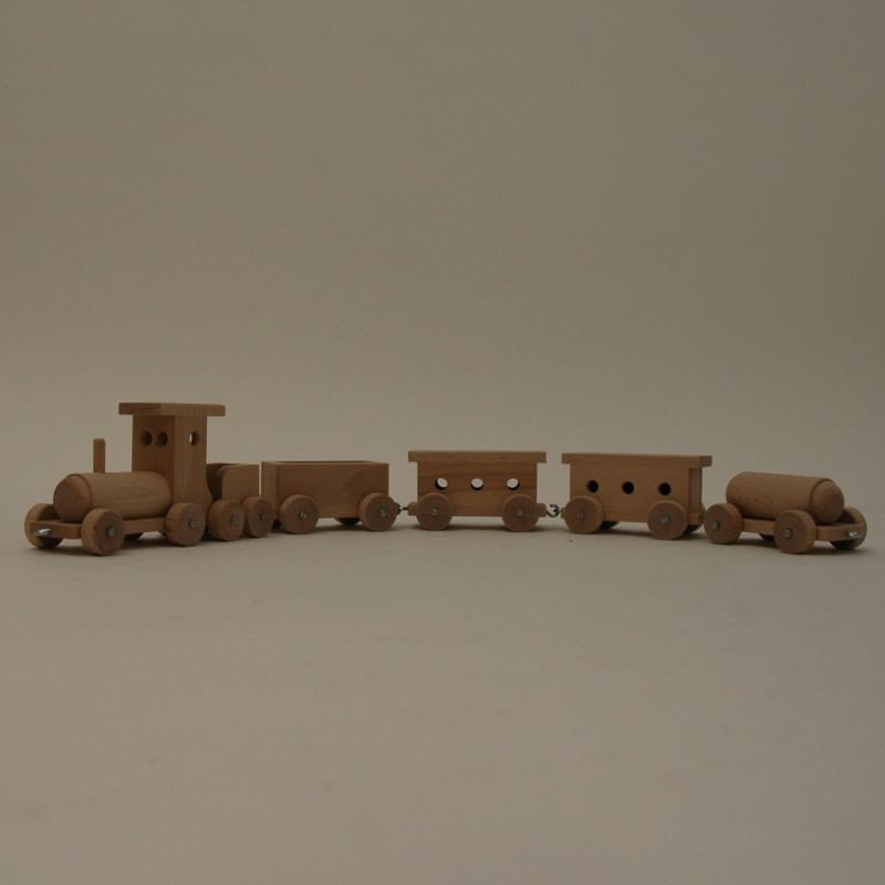 Trein met 4 wagons (klein)