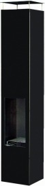 Terrashaard Omayo Black, afmetingen L35 x B35 x H150 cm