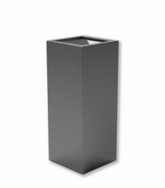 Luxe polyester plantenbak `Alto` 400x400x1000mm