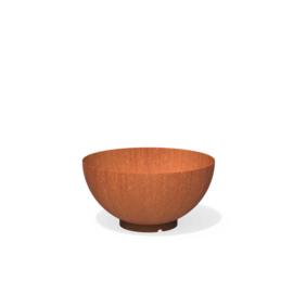 CorTenstaal plantenbak `Bowl` Ø800 x 405mm