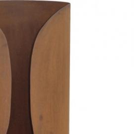 Terrashaard Masata Cortenstaal XL, afmetingen H122 x Ø36 cm