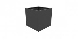 Aluminium plantenbak `Rubik` 1000x1000x1000mm