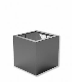 Luxe polyester plantenbak `Cubo` 600x600x600mm