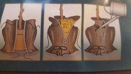 Vorst beschermhoes L voor pot & wortelkluit D70 x H200 cm