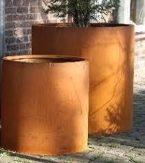 CorTenstaal plantenbak `Arrondi` Ø1000 x 600mm