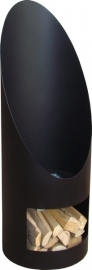 Terrashaard Solar Black, afmetingen H120 x D44cm