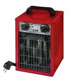 Werkplaats kachel 650- 1300- 2000 Watt met thermostaat