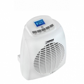 Ventilatorkachel 2000 Watt met thermostaat + timer + afstandsbediening