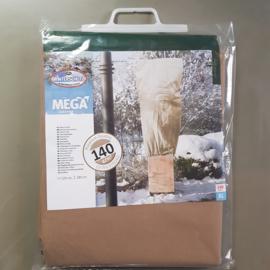 Mega vlieshoes  B120 x H180 cm 50 gr/m kleur: beige