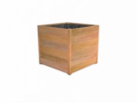 Hardhouten plantenbak `Venice Beach `  600 x 600 x 620mm