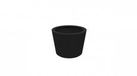 Luxe polyester plantenbak `Elegante` Ø950 x 700mm