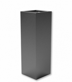 Luxe polyester plantenbak `Alto`  400x400x1200mm