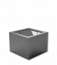 Luxe polyester plantenbak `Piazza` 800x800x400mm