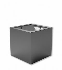 Luxe polyester plantenbak `Cubo` 800x800x800mm