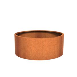 CorTenstaal plantenbak `Arrondi` Ø1500 x 600mm