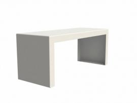 Aluminium Bench voor tuintafel 'Torras' L105xB40xH43 cm