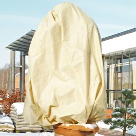 Mega vlieshoes  B200 x H240 cm 50 gr/m kleur: beige